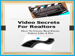 Real Estate Video Secrets book cover